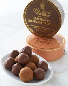 Boxed Chocolate Truffles by Charbonnel ET Walker at Horchow.