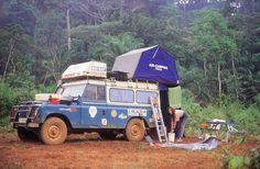 El blog de Santana Trophy: Enrique Dauner: Africa en Land Rover Santana (Primera Parte)