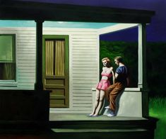 Grudge Match: Norman Rockwell vs Edward Hopper - BuzzDixon.com