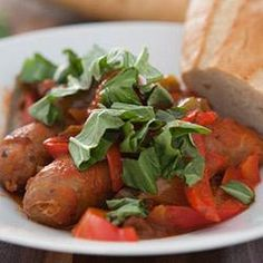 Slow Cooker Sausage and Peppers Allrecipes.com