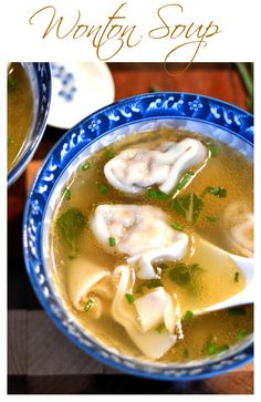 This wonton soup is so soothing and simple. The warm, savory broth is perfect for those chilly nights in.