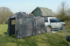 the Land Rover Day Tent - would it work on a highlander?