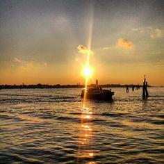 Atardecer en Murano, Venecia, Italia. Y yo estaba allí...