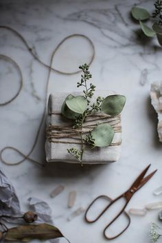 anca gray — delta-breezes: diy muslin gift wrapping by Beth...