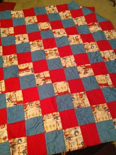 My grandson's BD quilt----the other side