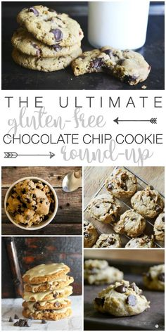 Old fashioned, oatmeal, #paleo and more... If you like #chocolate chip cookies, The Ultimate Gluten-Free Chocolate Chip Cookie Round-Up has got you covered.