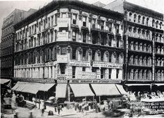 Dore Block as the Dairy Kitchen Hotel in 1893