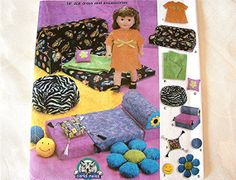 18 Inch Doll Furniture Sewing Patterns