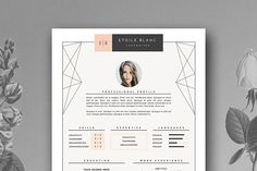 Creative Resume Template | 3 page - Resumes - 1