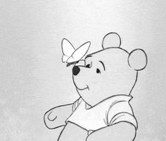 winnie the ppoh cute disney butterfly cartoons winnie the pooh