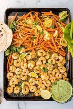 In search of an easy, flavorful NIGHTSHADE-FREE sheet pan meal? This simple lime shrimp fajita dish is for you. All of the fun and flavor without the pain. Paleo, Whole30, and AIP friendly! Fish Recipes, Seafood Recipes, Mexican Food Recipes, Ethnic Recipes, Shrimp Fajitas, Healthiest Seafood, Sheet Pan, Food Processor Recipes, Main Dishes