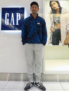 ロゴフリース ジョガーパンツ (Gap/Color:グレー/¥6,900/ID:852043/着用サイズ:M) フリース (パタゴニア) Tシャツ (パタゴニア) キャップ (山と道) シューズ (ニューバランス)  ■Gapストア リバーウォーク北九州店 http://mobile.gap.co.jp/stores/sp/store.php?shopId=37193919 ■オンラインストアはこちら http://www.gap.co.jp/browse/division.do?cid=5063