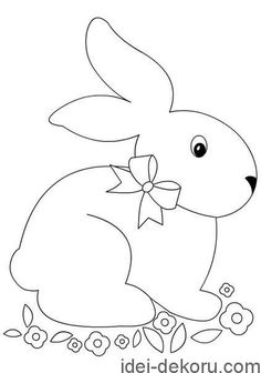 Free Hand Embroidery Pattern: Easter Egg o' Flowers Easter Templates, Applique Templates, Easter Printables, Applique Patterns, Easter Colouring, Easter Crafts For Kids, Coloring Book Pages, Pattern Drawing, Spring Crafts
