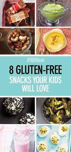 8 gluten-free snacks your kids will love