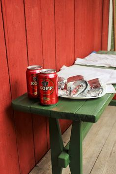 Makuja visioista: KiuasPaketit Coffee Cans, Canning, Drinks, Food, Meal, Eten, Drink, Meals, Conservation