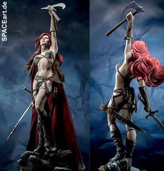 Red Sonja: Red Sonja, Statue / Premium Format Figur ... http://spaceart.de/produkte/rds001.php