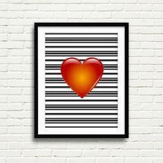 Love Printable / Valentine Day Heart / Love Valentine Printable Art / Valentine Art Printable / Valentine / Valentine Quotes