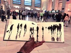 New York City Urban Sketchers: Sketching Grand Central