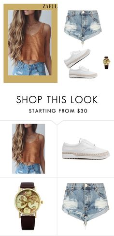 """""""http://www.zaful.com/?lkid=5197- 63"""" by christine-792 ❤ liked on Polyvore featuring One Teaspoon, women's clothing, women, female, woman, misses and juniors"""