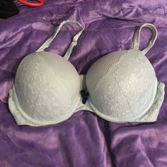 Victoria's Secret Body By Victoria Perfect Shape Victoria's Secret Body By Victoria Perfect Shape. Light blue with lace. Size 34D. Gently used. Good condition. Victoria's Secret Intimates & Sleepwear Bras