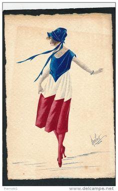 bleu blanc rouge - Delcampe.net