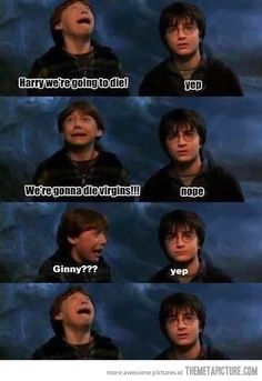 This is the end, Harry…