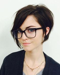 Image result for short hairstyles for chubby face pixie