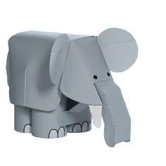 Elefant - Spielzeuge - Papiermodelle - Canon CREATIVE PARK