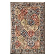 Mohawk Home Studio Panel Collage Sapphire (5' x 7') | Overstock.com Shopping - The Best Deals on 5x8 - 6x9 Rugs