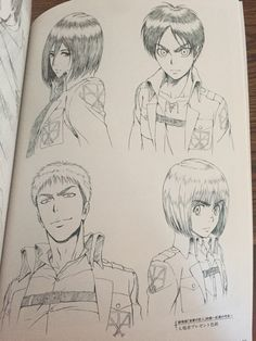 (notitle) - Attack on Titan Anime Artwork Attack On Titan Fanart, Attack On Titan Levi, Anime Drawings Sketches, Anime Sketch, Diy Foto, Animes Yandere, Anime Character Drawing, Arte Sketchbook, Anime Love