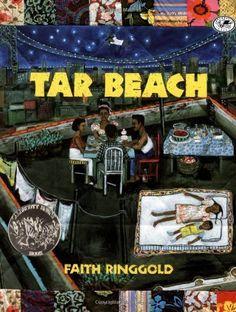Tar Beach by Faith Ringgold, http://www.amazon.com/dp/0517885441/ref=cm_sw_r_pi_dp_ElJvqb0DX8RDH