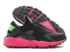 super popular 1ba83 88dd2 Nike Air Huarache Anthracite Hyper Punch - Chaussure Pour Femme Nike  Huarache Noir Pas Cher Grey