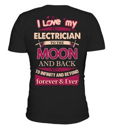 # Crazy Electrician's Lady Shirt .     If Your lady loves you and is proud of you being an Electrician. Go ahead and gift her this shirt.   Our Best seller- Why let her wear those old shirts when she can look Awesome in this Personalized Electrician's Lady  Tee.   For any queries- contact at support@teezily.com