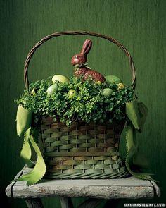easter bunny arrangement via martha