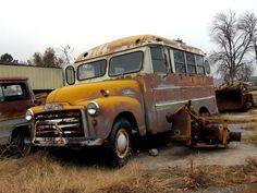 50s gmc school bus