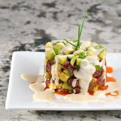 The Tuna Tartare Recipe from Michelin Star KL Bistro in Sebastopol California.