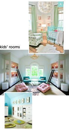Dreaming Up My Dream House – design finch This kids room is amazing!!!