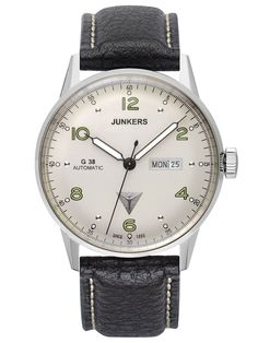 JUNKERS G38 Automatic Mens Watch 6966-4 • uhrcenter