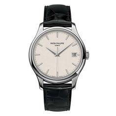 Patek Philippe Calatrava Mechanical Ivory Dial Leather Men's Watch 5227G-001 - Calatrava - Patek Philippe - Shop Watches by Brand - Jomashop