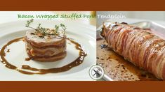 Learn how to prepare, stuff, wrap and bake pork tenderloin in bacon. An elegant and flavorful dish for your holidays, family gatherings and coming up parties. Dessert From Scratch, Lamb Stew, Prime Rib Roast, Braised Short Ribs, Xmas Dinner, Beef Bourguignon, Baked Pork, How To Grill Steak, Stuffed Sweet Peppers