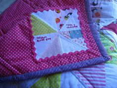 quilt label | Flickr - Photo Sharing!