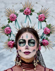 Every year I love attending Dia De Los Muertos Festival event. It's a place of peace and love…literally! 🖤 We celebrate food,… Halloween Makeup Sugar Skull, Sugar Skull Costume, Sugar Skull Makeup, Halloween Skull, Leopard Halloween, Halloween Spider, Halloween Costumes, Skeleton Costumes, Skeleton Makeup