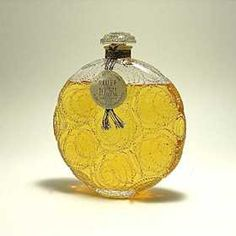 R. Lalique 1924 Forvil Relief Perfume Bottle