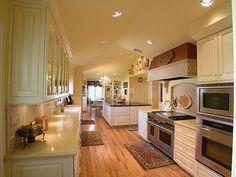 Mooie parketvloer in keuken