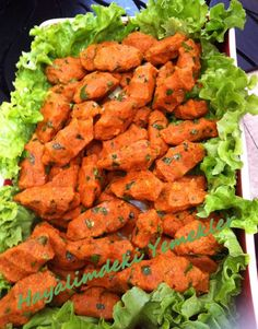 Mercimek Köftesi Turkish Recipes, Ethnic Recipes, Cute Food, Tandoori Chicken, Vegetable Recipes, Tea Time, Side Dishes, Spicy, Food And Drink