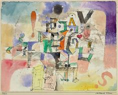 Paul Klee -The Literary Piano - 1918