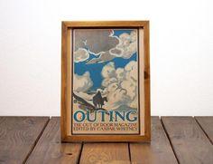 ビンテージ ポスター A4サイズ(複製)-1902 OUTING-