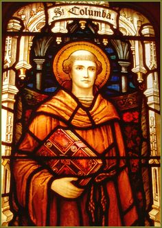 St. Columba - more about him here on the day of his Feast … http://corjesusacratissimum.org/2015/06/feast-of-st-columba/