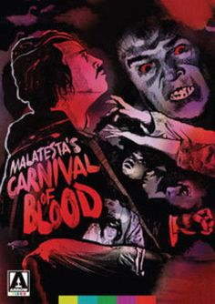 Malatesta's Carnival of Blood (DVD, 2017) Arrow Video Special Edition *SEALED*
