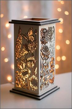 15 Enchanting Night Light Designs Made With Laser Cut Wood. 15 Enchanting Night Light Designs Made